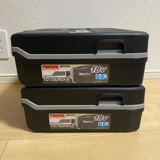 マキタ(Makita)のMakita TD172DRGX B 18Vインパクトドライバー 2台(工具)