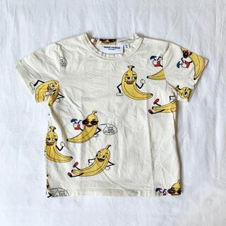 こども ビームス - バナナ柄Tシャツ 92/98