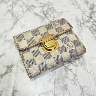 LOUIS VUITTON - おすすめ✨美品✨正規品✨ルイヴィトンダミエ折り財布、即日発送‼️