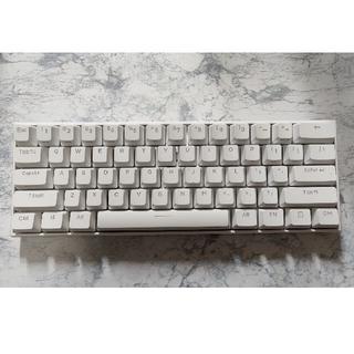 Anne Pro 2 ゲーミングキーボード  赤軸 白 ホワイト コンパクト (PC周辺機器)