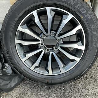 ダンロップ(DUNLOP)の未走行ランドクルーザー プラド 純正アルミタイヤセット 265/55R19(タイヤ・ホイールセット)