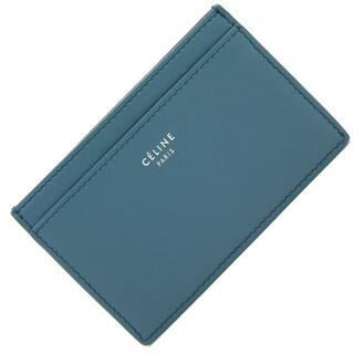 celine -  セリーヌ カードケース カードホルダー ブルー ブラック