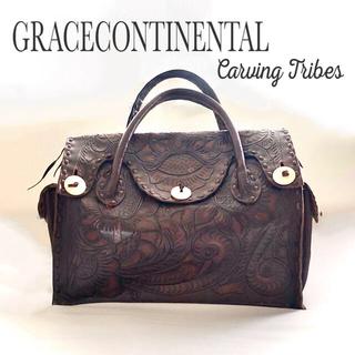 グレースコンチネンタル(GRACE CONTINENTAL)のグレースコンチネンタル カービングバッグ(トートバッグ)
