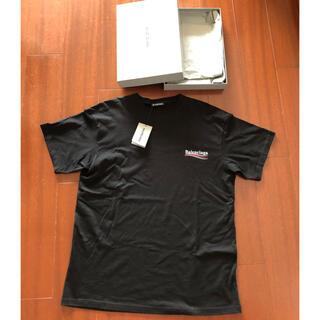 Balenciaga - バレンシアガ キャンペーンロゴ Tシャツ オーバーサイズ ブラック