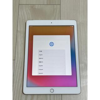 iPad - iPad 第五世代 128GB ゴールド simフリー セルラー 2017