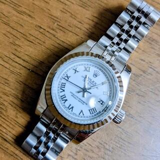 ノベルティ腕時計自動巻レディース