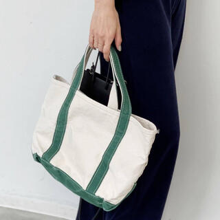 L'Appartement DEUXIEME CLASSE - アパルトモン L.L.Bean Canvas Tote Bag M グリーン