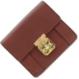 クロエ(Chloe)の クロエ 二つ折り財布 エルシー 3P0593 レザー(財布)