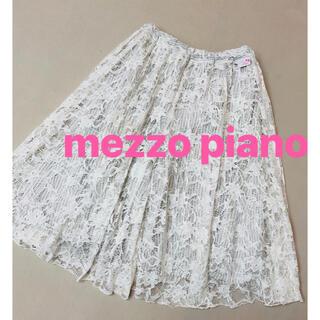 mezzo piano - メゾピアノ mezzo piano レース パンツ 140
