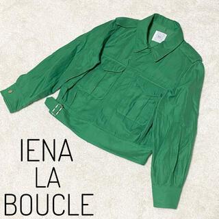 IENA SLOBE - 【美品】IENA LA BOCLE イエナラブークル テーラードジャケット 38