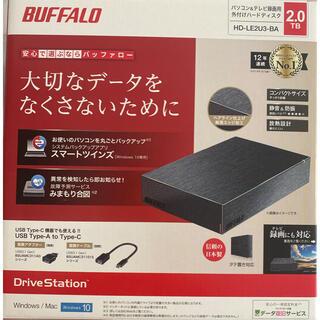 Buffalo - 新品未使用 BUFFALO 外付けHDD
