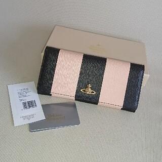 Vivienne Westwood - ヴィヴィアンウエストウッド 長財布 バイカラー ピンク