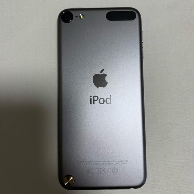iPod touch(アイポッドタッチ)のiPod touch (第5世代) 64GB Gray ME979J/A スマホ/家電/カメラのオーディオ機器(ポータブルプレーヤー)の商品写真