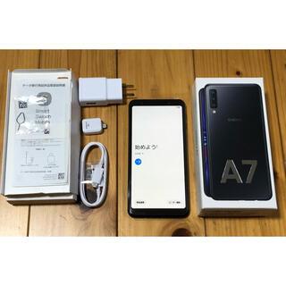 Galaxy - ギャラクシー Galaxy A7 ブラック SIMフリー デュアルメッセンジャー