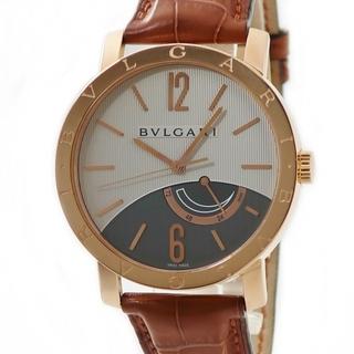 ブルガリ(BVLGARI)のブルガリ  ブルガリブルガリ パワーリザーブ BBP41GL 手巻き メ(腕時計(アナログ))