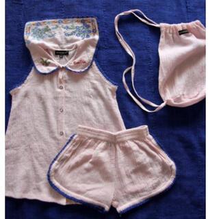 キャラメルベビー&チャイルド(Caramel baby&child )のbonjour diary 2021ss パジャマ セット 8Y(Tシャツ/カットソー)