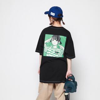 carhartt - 即完売 over print Tシャツ 2XL