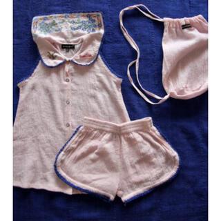 キャラメルベビー&チャイルド(Caramel baby&child )のbonjour diary 2021ss パジャマ セット 6y(Tシャツ/カットソー)