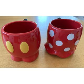 Disney - ディズニー ミッキーマウス&ミニーマウス ペアマグカップ