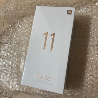 ANDROID - Mi 11 Lite 5G ブラック