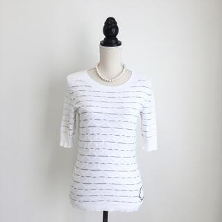 シャネル(CHANEL)の美品 シャネル CHANEL ココマーク  ニット トップス Tシャツ(ニット/セーター)