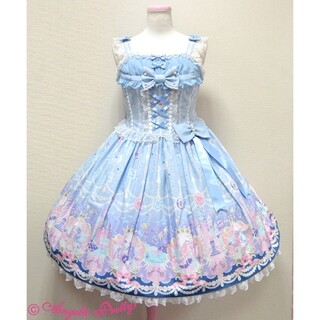 Angelic Pretty - 【タグ付き、未使用】Marine Kingdomジャンパースカート  サックス