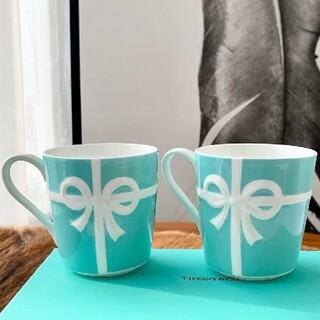 Tiffany & Co. - ブルーボックス マグカップ 2個セット ペア