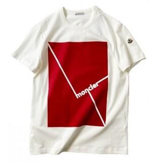 MONCLER - 【入手困難】 MONCLER モンクレール Tシャツ XL クルーネック 白