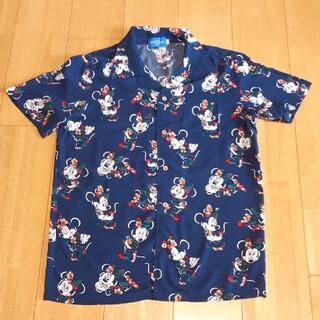 ディズニー(Disney)のまかなまま様専用 Disney Resort  ミニーアロハシャツ(シャツ/ブラウス(半袖/袖なし))