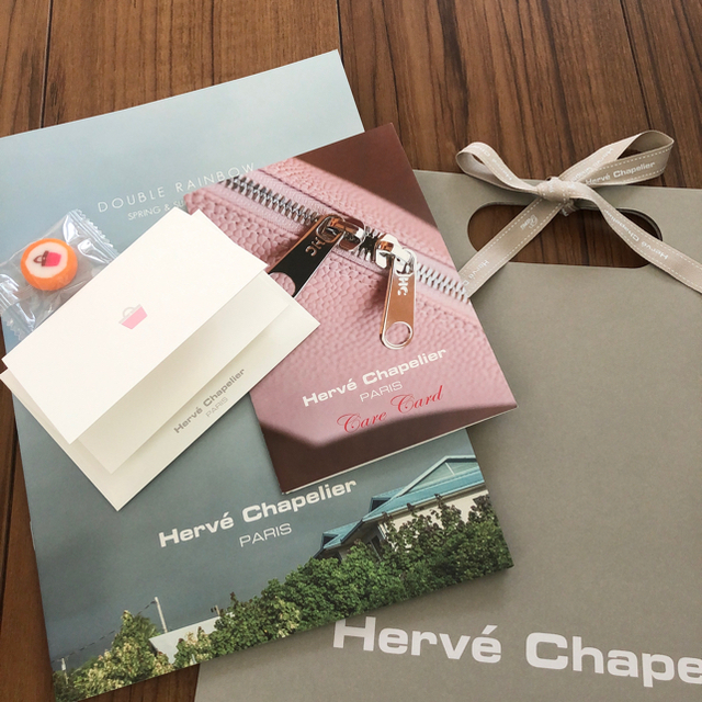 Herve Chapelier(エルベシャプリエ)のエルベシャプリエ 新品トートバッグ S レディースのバッグ(トートバッグ)の商品写真