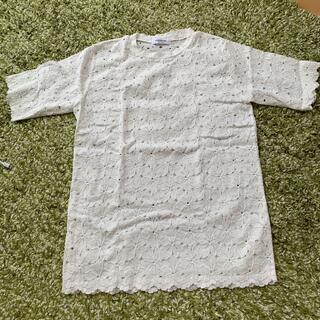 ディーホリック(dholic)のDHOLIC ショートスリーブレースTシャツ 半袖(Tシャツ/カットソー(半袖/袖なし))