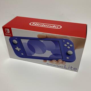 Nintendo Switch - NINTENDO SWITCH LITE ニンテンドースイッチ ライト ブルー