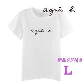 agnes b. - アニエスベー agnes b  Tシャツ 半袖 レディース  トップス L 白