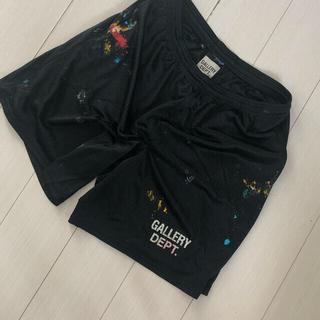 クロムハーツ(Chrome Hearts)のGallery Dept. ギャラリーデプトGym Shorts ブラック XL(ショートパンツ)