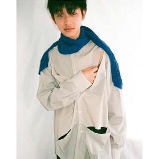 SUNSEA - kudos 19aw カッティングシャツ