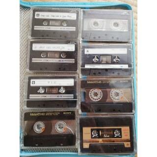 ティーディーケイ(TDK)の録音あり ジャンク 中古カセットテープ8本(その他)