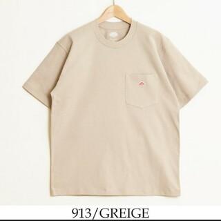 DANTON - 新品 DANTON  ダントン Tシャツ カットソー 半袖  グレージュ 40