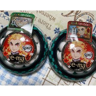 UHA味覚糖 - 鬼滅の刃 e-ma ema イーマ のど飴 煉獄 杏寿郎 ケース シール 2個