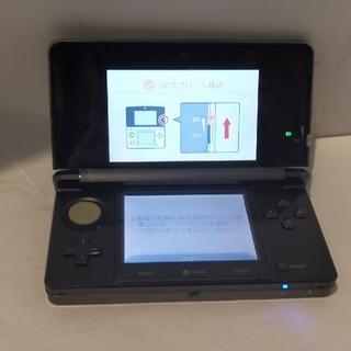 ニンテンドー3DS(ニンテンドー3DS)の送料無料!Nintendo/3DS本体/ブラック(携帯用ゲーム機本体)