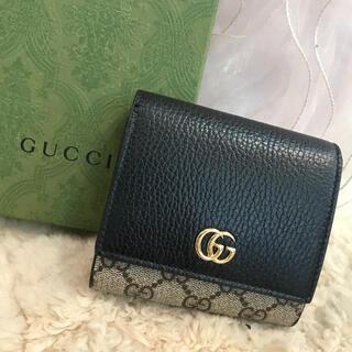 Gucci - ☆新品☆GUCCI グッチ コンパクト財布 GGスプリーム