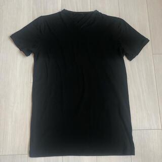 PRADA - PRADA VネックTシャツ ブラック M