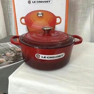 LE CREUSET - LE CREUSET 24cm 多機能鍋