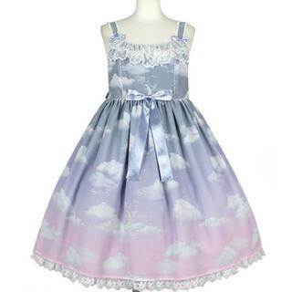 Angelic Pretty - Misty Sky Brilliant Color ジャンパースカートSet