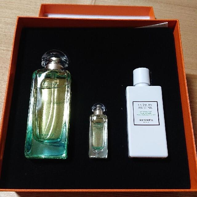 Hermes(エルメス)のHERMESナイルの庭(香水,乳液)3点セット コスメ/美容の香水(香水(女性用))の商品写真