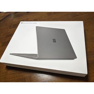 マイクロソフト(Microsoft)のSurface Laptop 3 15インチ ブラック(ノートPC)