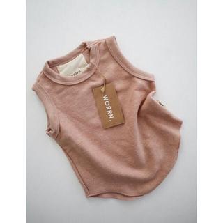 キャラメルベビー&チャイルド(Caramel baby&child )のworrn. タンクトップ(Tシャツ/カットソー)