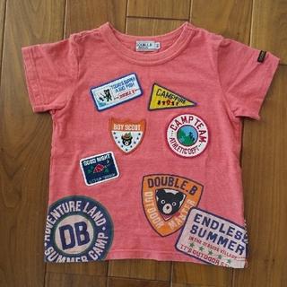 DOUBLE.B - ミキハウス ダブルB  Tシャツ100cm