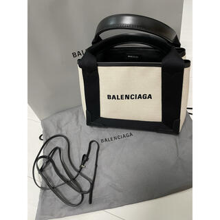 Balenciaga - BALENCIAGA トートバッグ NAVY カバス XS