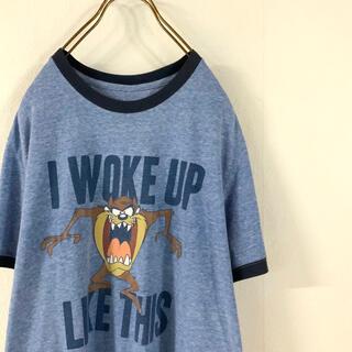 90's  Looney Tunes  タスマニアンデビル リンガー tシャツ