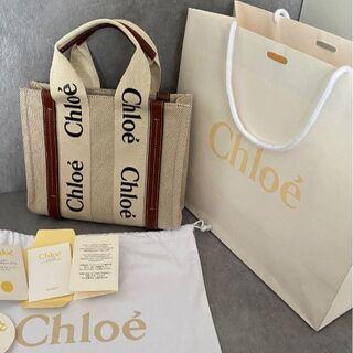 Chloe - お値下げ中‼️Chloe クロエ woody スモールトートバッグ